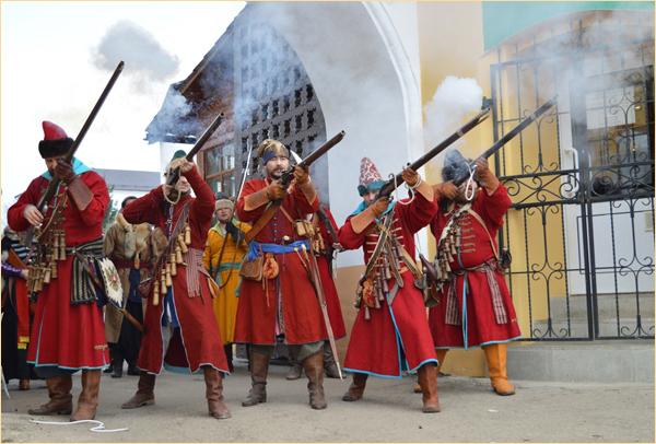 Оплот Веры, Пафнутьев монастырь, Боровск, стрельцы, 2015