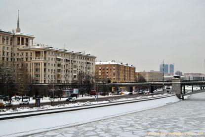 Зима. Мороз. Над Москвой-рекой. 07 февраля 2018. Фотограф Илья LukBigBox Химич