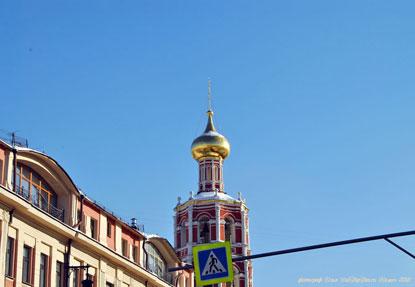 Центр Москвы зимой. Страстной бульвар. Фотограф Илья LukBigBox Химич. 27-02-2018