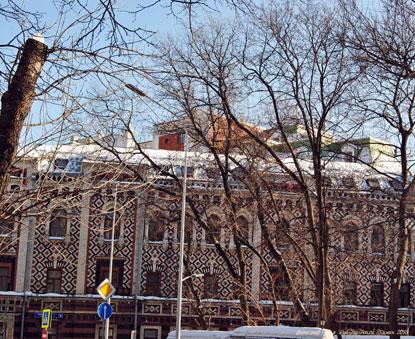 Центр Москвы зимой. Петровский бульвар. Фотограф Илья LukBigBox Химич. 27-02-2018